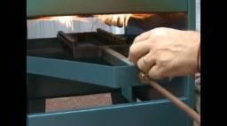 Máquina fabricar batatas chips