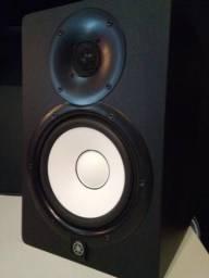Shure SM57 + Yamaha HS7 (novos) = $3.000