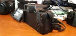 Câmera fotográfica Canon Cyber Shot SX60HS - Excelente qualidade e novíssima!