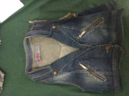 Colete jeans GG