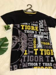 Camisa infantil da Tigor