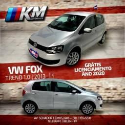 Volkswagen Fox trend 1.0 / km Automóveis Belém - 2013
