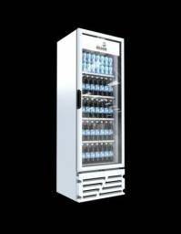 Visa cooler 454 litros nas cores preta/branca douglas