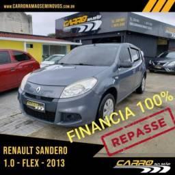 RENAULT SANDERO AUT 1.0 16V - 2013
