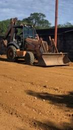 Retro escavadeira case