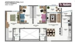 Apartamento com 3 dormitórios à venda, 112 m² por R$ 450.000,00 - Plano Diretor Sul - Palm