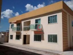 Apartamento térreo em condomínio fechado, bairro Recanto, Rio Das Ostras.