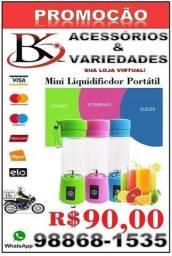 Mini Liquidificador Portátil - Recarregável-(Loja BK Variedades)-Entrega Grátis.
