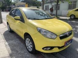 Fiat grand siena 15/15 ex taxi, aprovação imediata, basta ter nome limpo, 1° p/ 90 dias