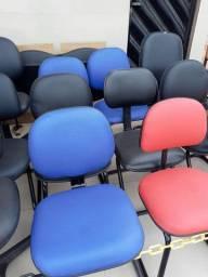Cadeira Para Escritório de Ferro Reformada