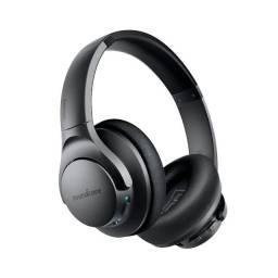 Fone de Ouvido Bluetooth Anker Q20 Original NC novo lacrado Cancelamento ruído