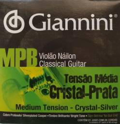 Encordoamento MPB Nylon Giannini