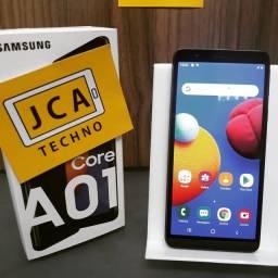 Samsung A01 Core 32GB Novo! 1 Ano de Garantia, Parcela no Cartão + Taxas