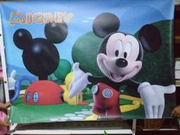 Painel de festa em lona - Mickey