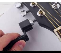 Encordoador Enrolador Corda Violão Guitarra Baixo Ukulelê(Entrega grátis)