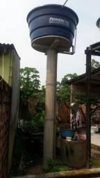 Pilares para caixa dá água