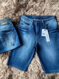 Bermudas jeans no atacado direto da fábrica