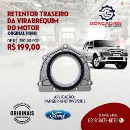 RETENTOR TRASEIRO DA VIRABREQUIM DO MOTOR ORIGINAL FORD