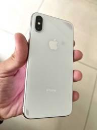 iPhone X 256g impecável.