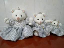 Dois kit com três urso