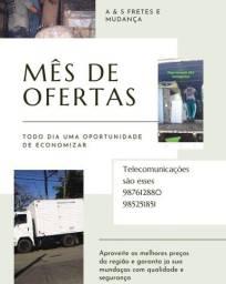 Título do anúncio: FRETE FRETES E MUDANÇAS EM TODOS OS BAIRROS
