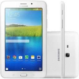 "Tablet Samsung Tab-E, tela 7"", branco, modelo T113 - Troco por celular"