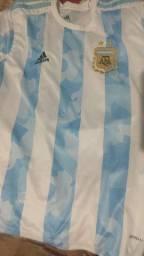 Camisa Argentina modelo 2021