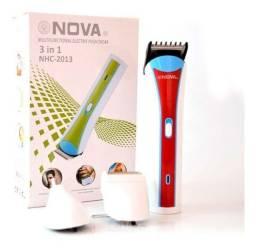 Barbeador Sem Fio 3 Em 1 Pronta Entrega Nhc-2013 Nova aparador de pêlos