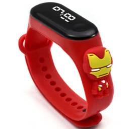 Título do anúncio: Relógio infantil Homem de Ferro