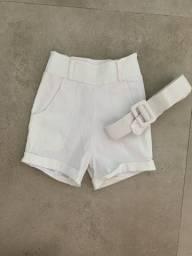 Título do anúncio: Short alfaiataria branco