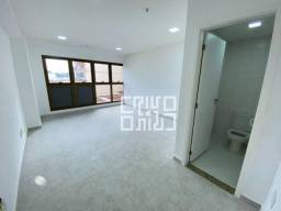 Prédio Novo - Super Moderno. Sala com VAGA para alugar, 30 m² por R$ 850,00/mês - Centro -