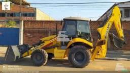 Título do anúncio: Retro escavadeira new holland b95b