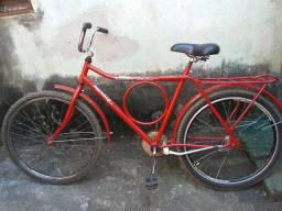 Bicicleta Monark Vermelha