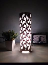 luminaria de pvc. gotas
