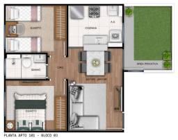 Título do anúncio: IS em Barra de Jangada, Residence Ville 2 quartos com área de Lazer completa