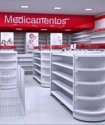 Prateleira pra Farmácia / Gondôlas
