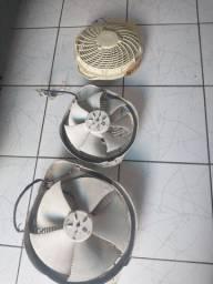 Ventiladores de condensador tipo barril.