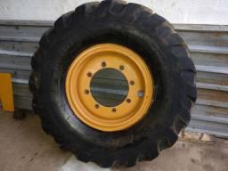 Venda a roda traseira retro escavadeira case
