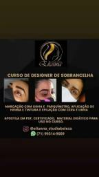 Título do anúncio: Curso de Designer de sobrancelhas