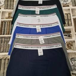 Título do anúncio: Cueca algodão Premium Tommy Ck Calvin kit 5 unidades