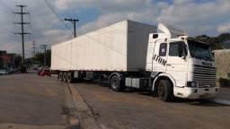Título do anúncio: Scania HW Baú 30 pallets