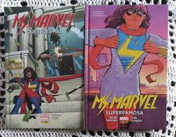Hq,s Miss Marvel capa dura
