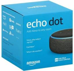Título do anúncio: Smart Speaker - Amazon Echo Dot Alexa 3ª Geração