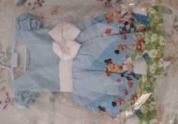 Título do anúncio: Vestido Alice no país das maravilhas