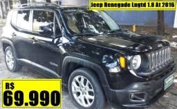 Jeep Renegade Lngtd 1.8 At 2016