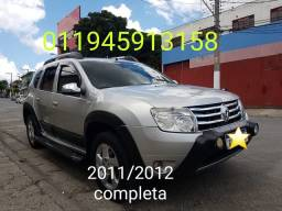 Renault DUSTER DYNAMIQUE  2.0 ANO 2011/2012 COMPLETA