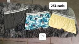 Shorts, Blusas e cuecas