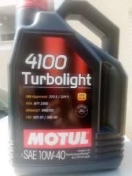 Título do anúncio: Óleo Motul 4100 turbolight 10w40 4 litros