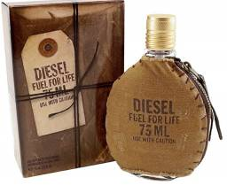 Título do anúncio: Perfume Diesel Fuel for Life Masculino Eau de toilette 75ml