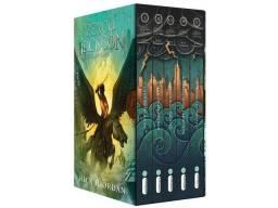 Livro Percy Jackson - 4 livros da coleção